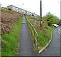 ST1190 : Long ramp up to Tan-y-bryn, Senghenydd by Jaggery