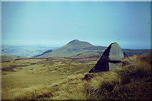 NO1906 : Stone on West Lomond by Colin Smith