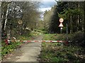 NZ1062 : Disused road, former entrance to Prudhoe Hospital by Andrew Curtis