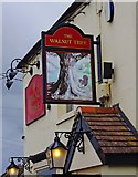 TF1409 : The Walnut Tree (2) - sign, 32 Horsegate, Deeping St. James by P L Chadwick