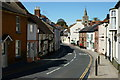 SZ6087 : High Street, Brading, Isle of Wight by Peter Trimming