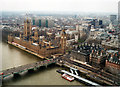 TQ3079 : Houses of Parliament From London Eye 2001 by Roy Hughes