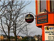 J5081 : Guinness sign, Bangor by Rossographer