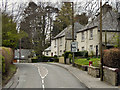 NS5579 : Glasgow Road, Blanefield by David Dixon