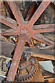 SK9772 : Ellis Mill - Brake Wheel by Ashley Dace