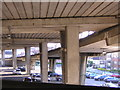 TQ3265 : Car parks under the Croydon Flyover by Christopher Hilton