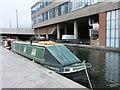 TQ2681 : Narrowboat Captain Shedlock at Paddington Basin by PAUL FARMER