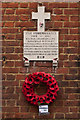 TL1406 : World War 1 Street Memorial, Albert Street by Ian Capper