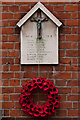 TL1406 : World War 1 Street Memorial, Pageant Road by Ian Capper