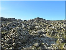 NY2406 : Path to Bowfell summit by Graham Robson