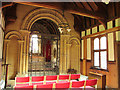 TQ3551 : St Mary's chapel, Godstone - interior by Stephen Craven