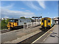 ST1166 : Barry Island station by Gareth James
