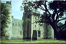 TQ7825 : Moated Bodiam Castle by Colin Smith