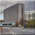 SD8502 : Hexagon Tower, Crumpsall Vale by David Dixon