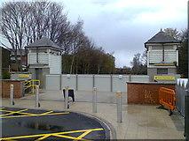 SD8203 : Heaton Park Metrolink station, Prestwich by Duncan Watts
