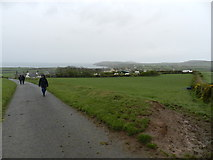 SH1727 : Track from Ty'n-y-mynydd to Hendre-uchaf by Peter Barr