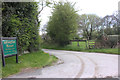 SJ9281 : Street Lane entrance to Adlington Manor by Peter Turner