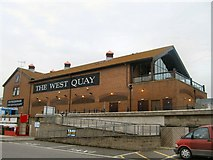 TQ3303 : The West Quay by Paul Gillett