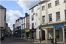 SO4959 : High Street in Leominster by Roger Davies