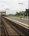 SU5606 : Fareham railway station by Roger Templeman