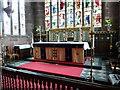 SJ5277 : St Laurence Parish Church of Frodsham, Altar by Alexander P Kapp