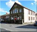 ST1289 : Abertridwr Community Church and Beulah Baptist Chapel, Abertridwr by Jaggery