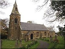 NU0049 : St Peter's Church, Scremerston by Bill Henderson
