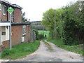 SZ5690 : Public footpath, Havenstreet by Malc McDonald