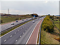 SD7631 : M65 Motorway Near Huncoat by David Dixon