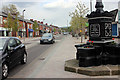SJ9183 : Park Lane, Poynton by Peter Turner