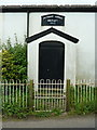 SJ6181 : Whitley Methodist Chapel, Porch by Alexander P Kapp