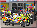 TQ8109 : Blood bikes by Oast House Archive