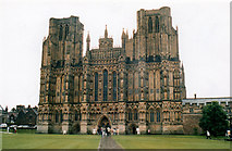 ST5545 : Wells Cathedral by Roy Hughes