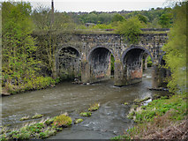 SD7506 : River Irwell, Prestolee Aqueduct by David Dixon