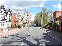 SK5319 : Granby Street - Frederick Street by Betty Longbottom