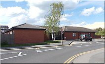SK5319 : Pinfold Medical Practice - Pinfold Gate by Betty Longbottom