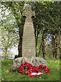 NY4756 : The War Memorial at St Paul's, Holme Eden by Ian S