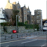 SH2482 : Rear of grade II listed Stanley House, Holyhead by Jaggery