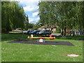TQ0068 : Playground, Stroude by Alan Hunt