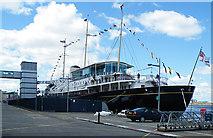 """NT2677 : Royal Yacht """"Britannia"""" by Anne Burgess"""