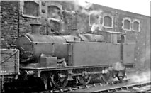 SS7597 : Ex-Rhymney Railway 0-6-2T at Neath General by Ben Brooksbank