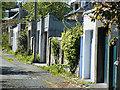 NT2274 : Garage Lane by Anne Burgess