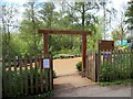 TM0733 : Entrance to RSPB Flatford Wildlife Garden by PAUL FARMER
