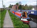 SJ3125 : Working Narrow Boat Hadar moored at Maesbury Marsh by Keith Lodge