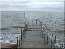 TM1714 : Breakwater, Clacton-on-Sea by JThomas