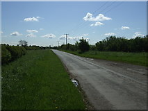 SK8159 : Langford Lane heading east by JThomas