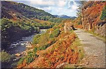 SH5946 : Afon Glaslyn north of Nantmor by Trevor Rickard