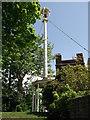 TQ7568 : The Bell Mast, Admiral's Gate, Chatham Dockyard by David Anstiss