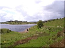 SD7255 : Stocks Reservoir from the west side of the circuit path by Raymond Knapman