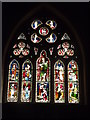 SU7730 : Greatham, East Window by Colin Smith